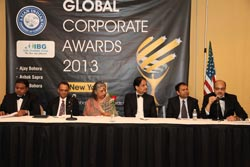 Panel Discussion on Global Emerging Trends at the Awards ceremony